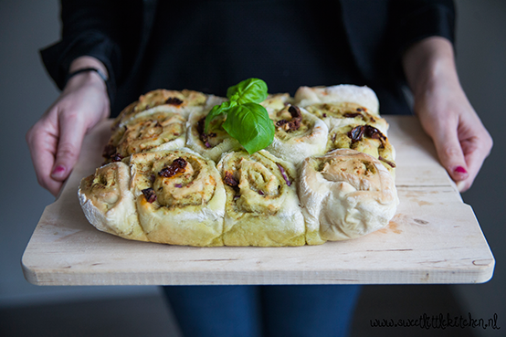 Pesto Brood eindresultaat