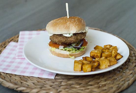 zelf hamburger maken