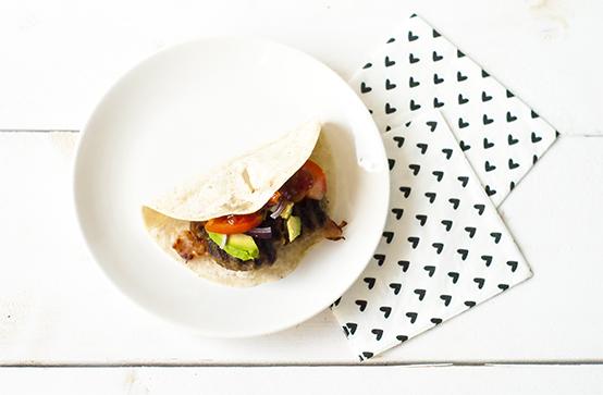 Hamburger wrap