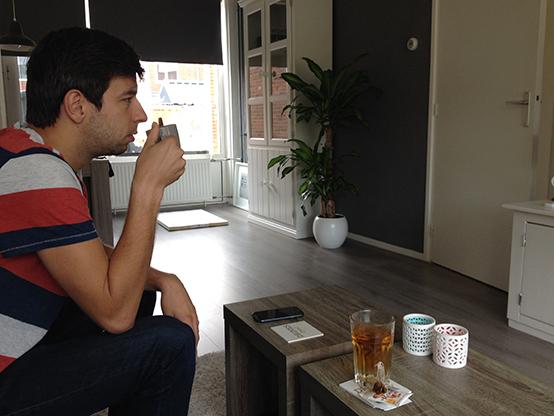 Koffie drinken