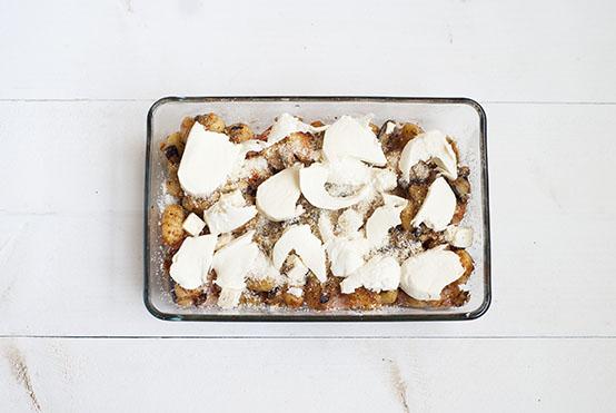 Gnocchikaasschotel uit de oven