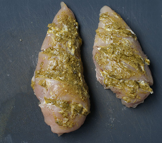 Toscaanse kip uit de oven