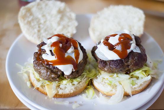 shoarmaburger