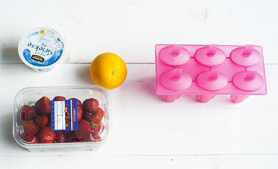 Makkelijke fruit ijsjes