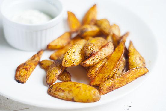 BBQ aardappeltjes
