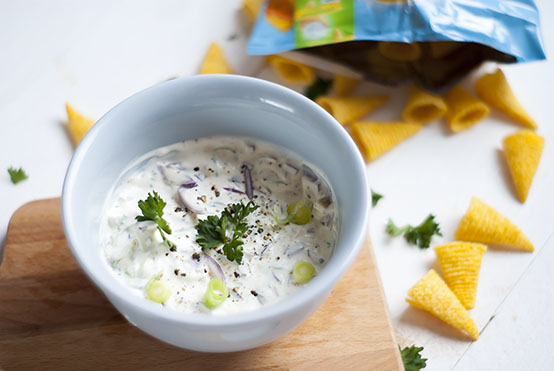 sour cream & onion dip