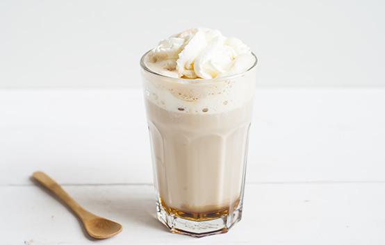 Salted caramel koffie