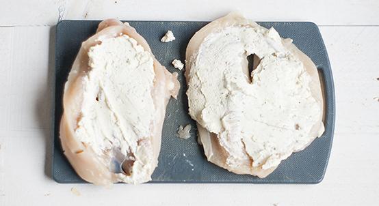 Kip met champignons uit de oven