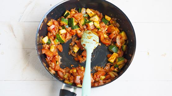 couscous met tomaat