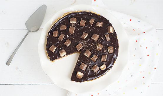 makkelijke twix taart
