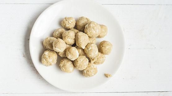 pasta met kipballetjes