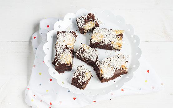 chocolade kokoscake