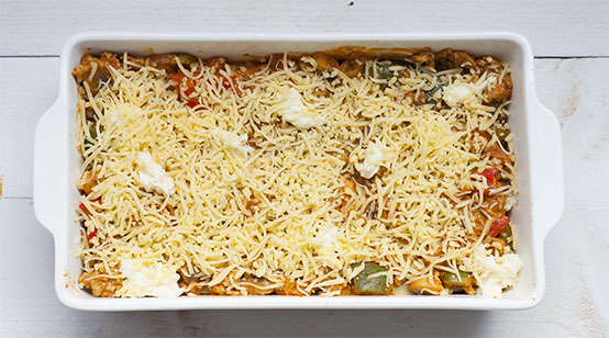 Lasagne met kip