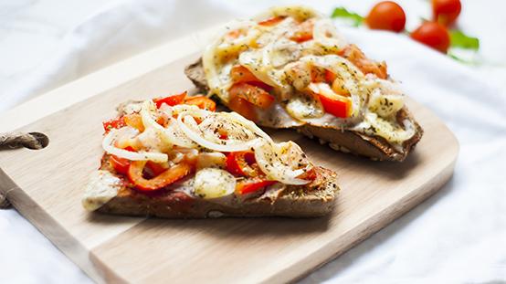 gezonde pizzabroodjes